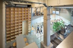 Blue Bottle Coffee Nakameguro Cafe by Jo Nagasaka, Schemata Architecture Office and Blue Bottle Coffee, Blue Bottle Coffee architecture, Tokyo cafe architecture, Nakameguro architecture, adaptive reuse in Tokyo
