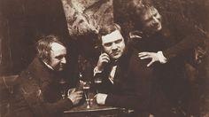 Edinburgh Ale: James Ballantine, Dr George Bell and David Octavius Hill, 1843-1847. All images by David Octavius Hill and Robert Adamson.