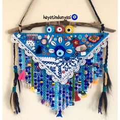 Beaded Ornaments, Dream Catcher, Crafts, Evil Eye, Instagram, Corner, Walls, Tela, Craft