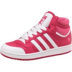 adidas Originals Girls Topten Hi Tops Pink