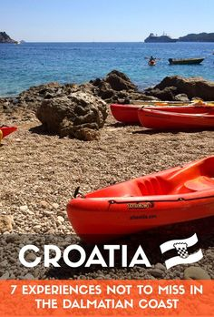 Unforgettable Things To Do, See and Feel in Dalmatia  #lovecroatia #croatia…
