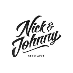 Logotype for Swedish snus brand Nick & Johnny created by Scandinavian Design Group. Featured on bpando.org