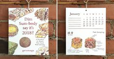 Greet the Day in Style with These Food Calendars