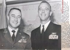 Gus grissom and Alan Sheppard Nasa Space Pictures, Space Images, Astronauts In Space, Nasa Astronauts, Deke Slayton, Gus Grissom, Project Mercury, John Glenn, Science