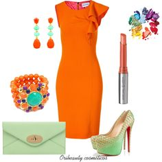 A beauty collage from March 2013 featuring beaded jewelry, long earrings and green purses. Browse and shop related looks. Oriflame Cosmetics, Green Purse, Belleza Natural, Orange, Beaded Jewelry, Black Women, Fancy, How To Wear, Gardens