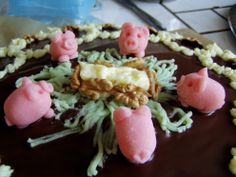 ozdoby na dort pro chovatele prasat :)