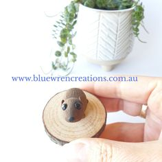 There's no denying that Australian native animals are adorable. Jo from Blue Wren Creations in Tasmania loves sculpting loveable whimsical miniature Australian native animals, mushrooms, fungi & botanical earrings. Cottagecore, Australiana art, home decor & cute gift ideas. Follow along on Facebook & Instagram for cottagecore art updates, & pop over to the website to see what's currently available.