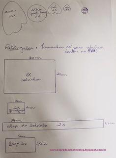 Segredos de Aline: Artesanato EVA: Lembrancinha Bolsa ou Necessaire Coruja em EVA