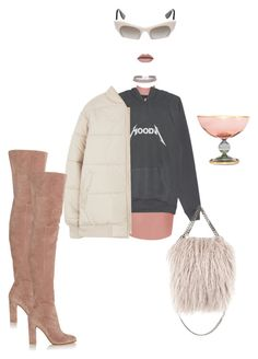 """""""I've been through the craziest weather"""" by astrro on Polyvore featuring STELLA McCARTNEY, Griffe, Gianvito Rossi, women's clothing, women, female, woman, misses and juniors"""