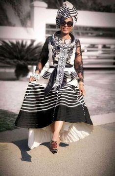 awurudu dress & awurudu wishes _ awurudu _ awurudu dress South African Traditional Dresses, Traditional Fashion, Traditional Outfits, Traditional Wedding, African Fashion Dresses, African Dress, Fashion Outfits, Women's Fashion, Xhosa Attire
