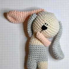 http://wixxl.com/waouf-the-doggie/ Free Waouf the Dog Amigurumi Pattern.