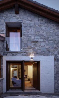 Neo arquitecturaymas: Rehabilitación vivienda en el Pirineo Aragonés