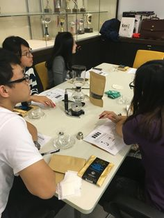 Coffee Tasting Workshop, Business Leisure Series held by Lily Kerridge on behalf of the Business Students' Union of Hong Kong University of Science and Technology, 22nd April 2016.