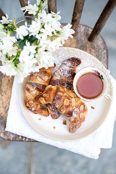Almond Croissants #brunch