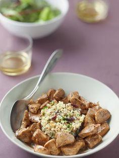 Blancs de poulet sauce miel et balsamique - Recette de cuisine Marmiton : une recette