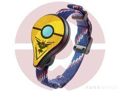 Pokemon GO Plus | Instinct Yellow | Real Wood Cover - Team Hardwood Veneer Skin…