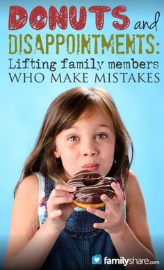 Children often make mistakes, big and small, as do spouses and parents. How we react to those mistakes correlates with the degree a person feels self-worth and confidence to rise above their mistake.  When family members make mistakes, we can built trust and respect and help them to change through forgiveness.