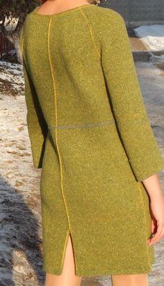 MODEL (TRİKO'DA) Sweater Knitting Patterns, Easy Knitting, Knitting Stitches, Crochet Shoes, Crochet Clothes, Knit Crochet, Knitwear Fashion, Crochet Fashion, New Years Dress