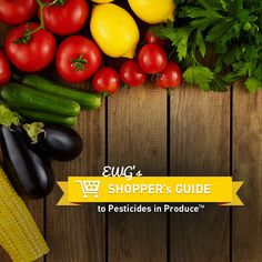 "Environmental Working Group Shopper's Guide to Pesticides in Produce (report/website) Each year EWG offers a list of the ""dirty dozen"" and ""clean fifteen"" -- fruits and veggies that have the highest and lowest levels of pesticide residues."