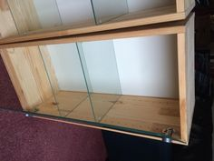 pine cabinet glass doors - Second Hand Household Furniture, Buy and Sell in the UK and Ireland   Preloved