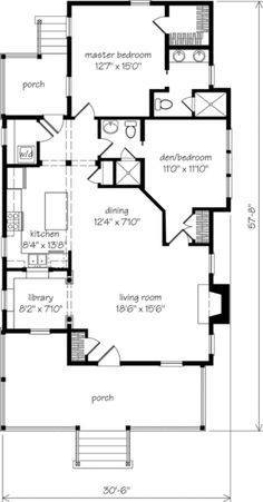 1255 Sq Ft U0027Old Pond Placeu0027 Southern Living House Plans