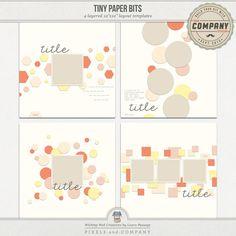 Tiny Paper Bits | Templates