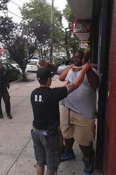 Eric Garner was put in a chokehold as Staten Island police tried to subdue him Thursday. He became unresponsive moments later.