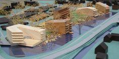 Stedenbouwkundig plan, inrichtingsplan en architectonisch ontwerp voor een woonlandschap met vijf appartementengebouwen, i.o.v Kikx Development en Bokx Vastgoed (2007-2010)