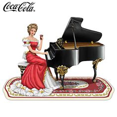Refreshing Melody By COCA-COLA Figurine_Элегантные Леди / Томас Кинкейд