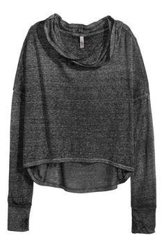 Jersey corto con capucha
