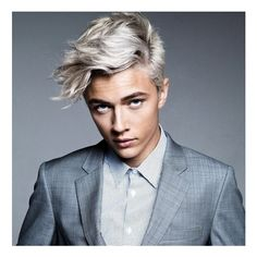 Meet Lucky Blue Smith ❤ liked on Polyvore featuring lucky blue smith, people, celebrities and faces