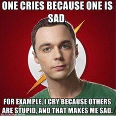 oh Sheldon <3