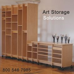 Take a look at Art Storage Solutions! There products are top notch! – Claudine Intner – Artist Take a look at Art Storage Solutions! There products are top notch! Take a look at Art Storage Solutions! There products are top notch! Craft Room Storage, Craft Room Shelves, Art Studio Storage, Art Studio Organization, Art Storage, Storage Ideas, Craft Rooms, Storage Organization, Storage Cart