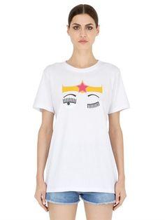 Flirting Cotton Jersey T-Shirt
