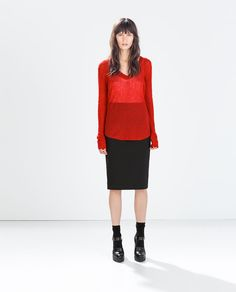 Image 1 of EXTRA-FINE SWEATER from Zara