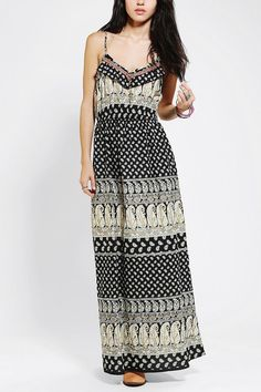 Band Of Gypsies Boho Print Maxi Dress #urbanoutfitters