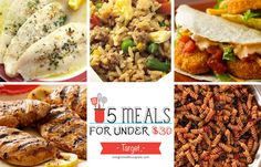 5 Meals for Under $30 at Target Deals - printable coupons and deals - learn how to coupon and get the best deals this week -