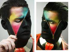 #Maquillaje #colores #hombre #cierre