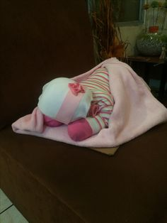 Bebé de pañal