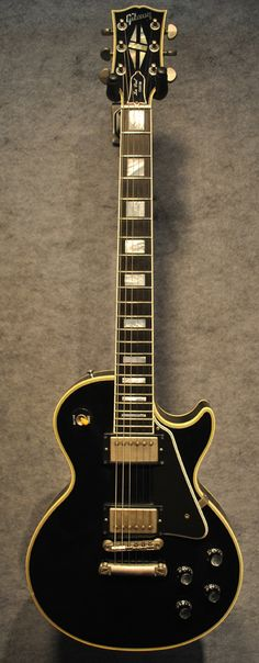 Gibson '68 Les Paul Reissue VOS Guitar in Ebony