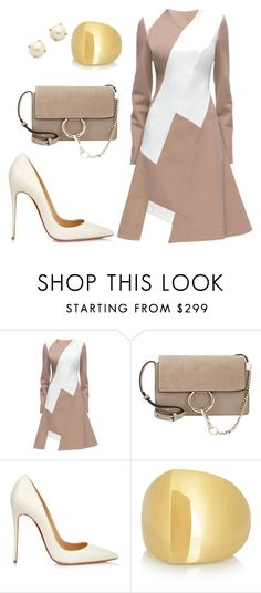 helia's style theory by heliaamado on Polyvore featuring Lattori, Christian Louboutin, Chloé, Kate Spade and Maiyet