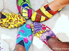 Ankara Product of The Day: Chaste Clothing Heritage 2016 Summer Shoes