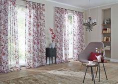 RIHANNA #cortinas #cortines #flores #flors #saumundviebahn #saum #ontariofabrics