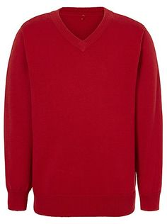 School V-Neck Jumper - Red, read reviews and buy online at George at ASDA. Shop from our latest range in School. Ideal for layering on colder days, PE and...