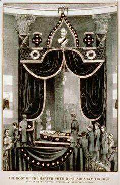 Lincoln Funeral Springfield Illinois