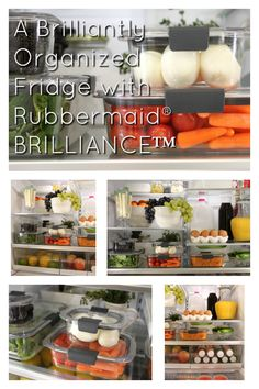 I've searched high and low for easy, simple, and affordable solutions to streamline our fridge, simplify our meal planning process, and create a system for my kiddos to independently grab their own snacks. My dreams became a reality when I was introduced to the brilliantly designed Rubbermaid® BRILLIANCE™ crystal clear, food storage containers. These clever containers are the key ingredient I used to tackle my fridge organization goals once and for all! #OrganizeWithBrilliance #ad