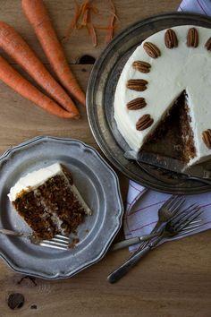 Quintessential Carrot Cake via Sift & Whisk