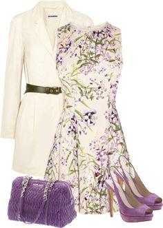 INSPIRATION || cream and lavender
