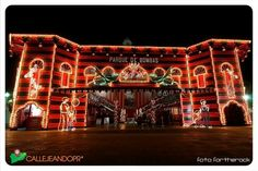 Parque de Bombas en Navidad, Ponce, PR