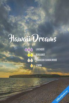 Hawaii dreams - lavender, bergamot, hawaiian sandalwood and lemon